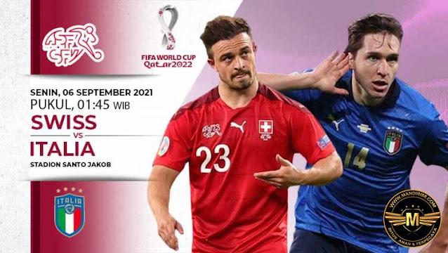 Prediksi Swiss Vs Italia