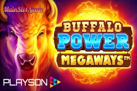 Main Gratis Slot Buffalo Power Megaways (Playson) | 95,84% RTP