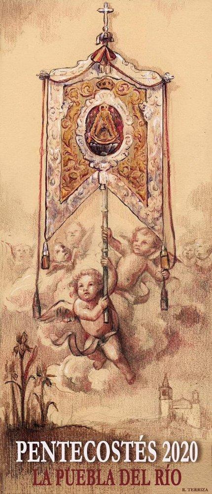 Presentado el Cartel de Pentecostés de la Hermandad del Rocío de Puebla del Río (Sevilla)