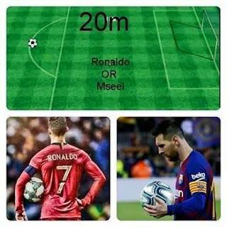 Choose One.... #Messi Or #Ronaldo...