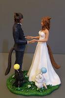 sposini videogioco matrimonio tema videogiochi cake topper orme magiche