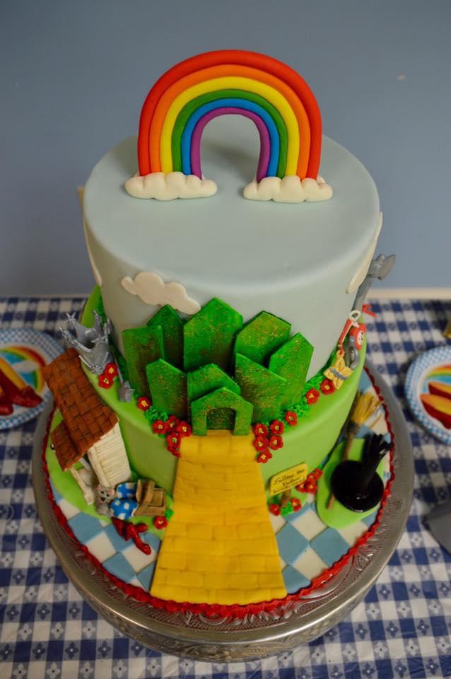 Mona Lisa Birthday Cake