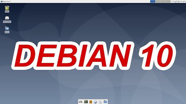 "Download ISO Debian 10 ""Buster"" Lengkap"