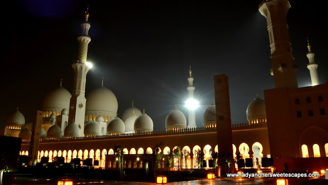 The Majestic Sheikh Zayed Grand Mosque in Abu Dhabi