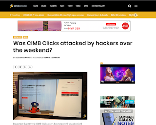 CIMB Clicks Hacked ? Please read this 8