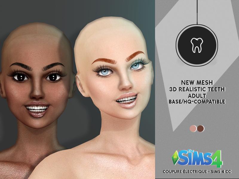 3D REALISTIC TEETH | REDHEADSIMS - CC
