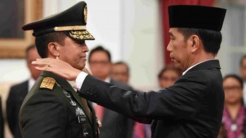 Minta Jokowi Tunjuk Andika Perkasa Sebagai Panglima TNI, Haris KNPI Beberkan Alasannya