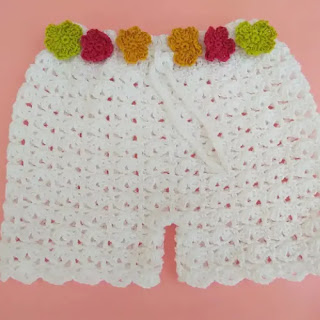 Short de verano a Crochet