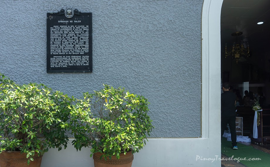 Baler Church historical marker