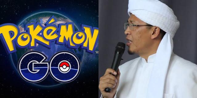Terkait Maraknya Orang Yang Berburu Pokemon, Aa Gym Pun Angkat Bicara