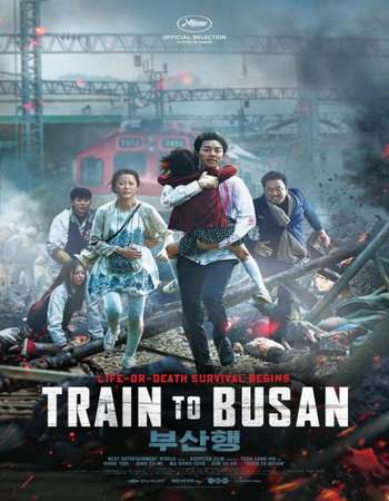Poster Of Train to Busan 2016 Dual Audio 720p HDRip [Hindi - Korean] ESubs Free Download Watch Online downloadhub.net
