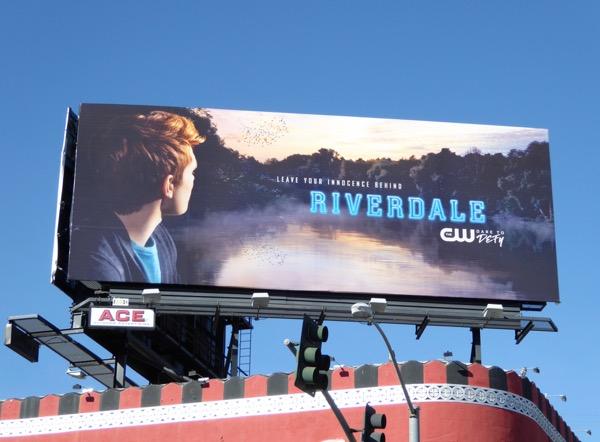 Riverdale series teaser billboard