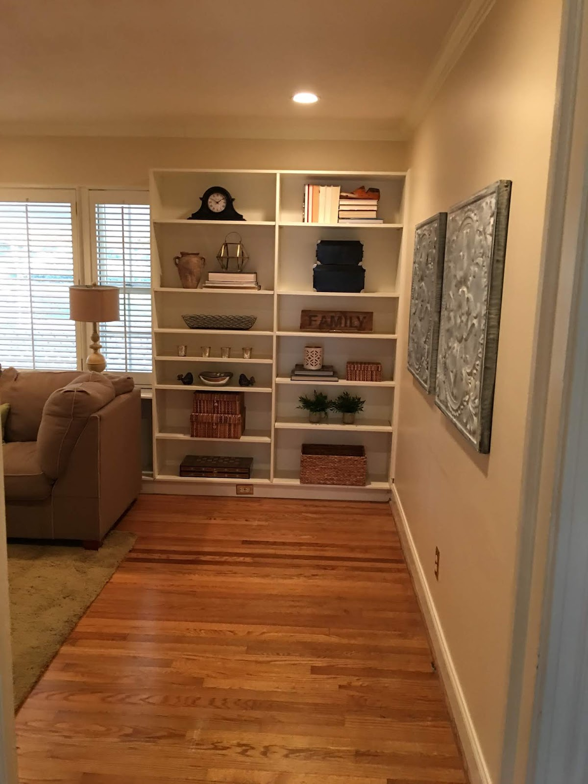 Before and After: Family Room Reveal