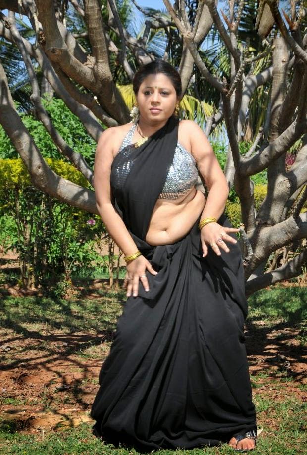 Sunakshi Hot South Indian Actress Hd Navel Show In Saree -1549