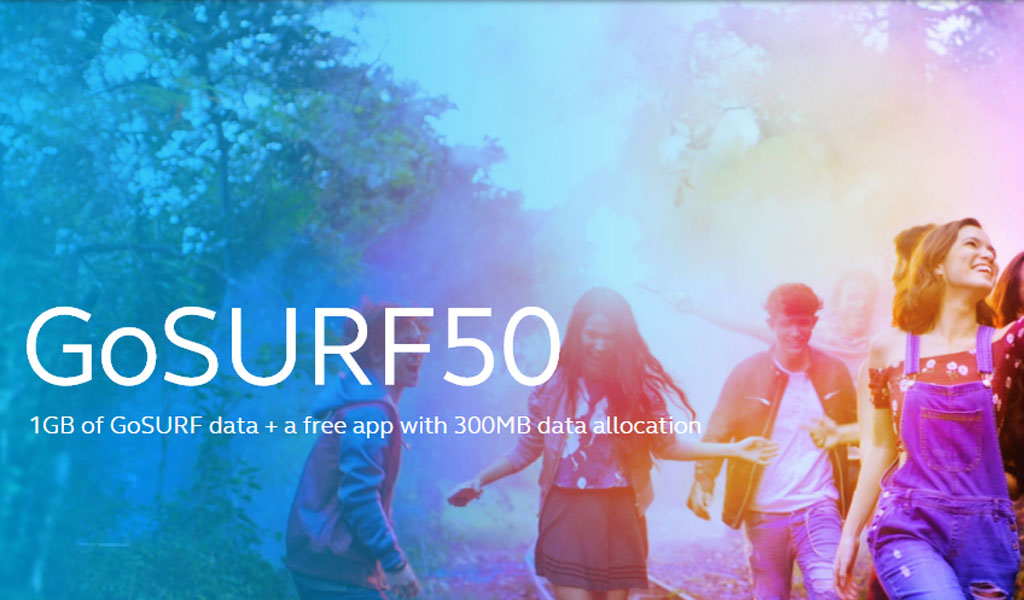 Globe upgrades GoSURF50 now features 1GB data allocation plus 300MB free app data