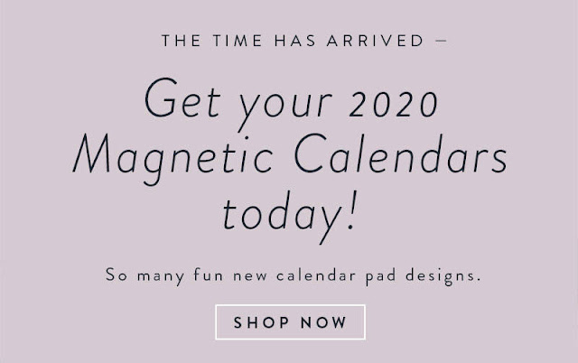 new calendar pad designs are available for a short time