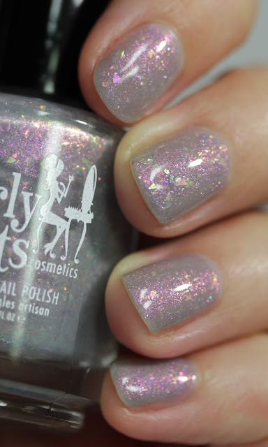 Girly Bits Thistle While You Work swatch by Streets Ahead Style