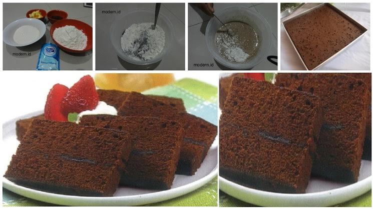 Resep Membuat Brownies Kukus Ekonomis, Cukup 15RB Tanpa Telur, Tanpa Mixer, Anti Gagal