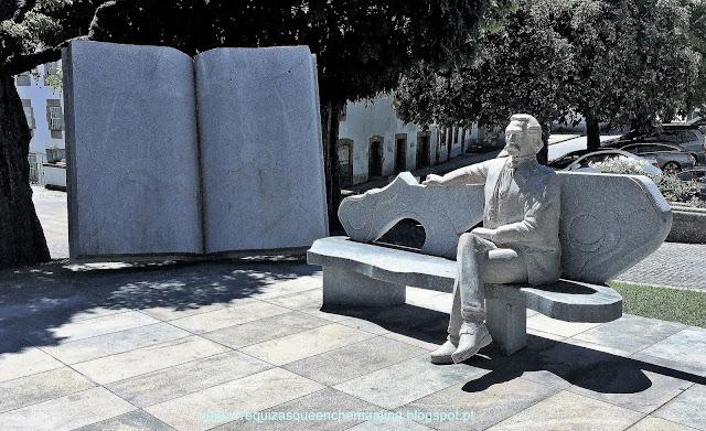 Escultura Camilo Castelo Branco  Pinhel