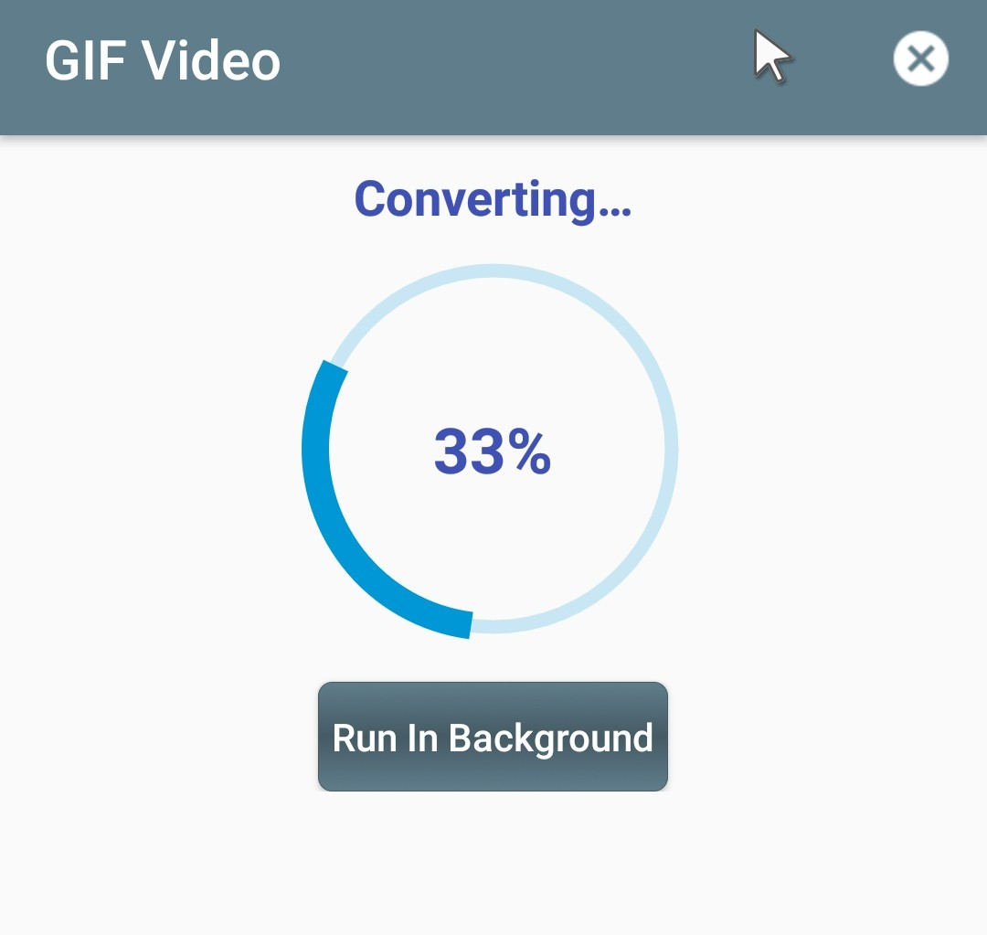 How to Convert mp4 to gif Offline Using this Simple App