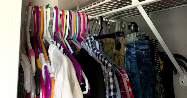 Real Life Organizing Tips on a Budget - Budget-friendly closet organizing