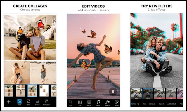 Top 20 Free Photo बनाने वाला apps download करें.