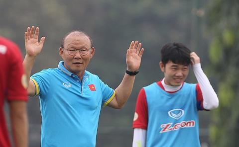 Nhận định của HLV Park Hang Seo về lứa cầu thủ Việt Nam hiện tại