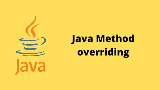 HackerRank Java Method Overriding problem solution