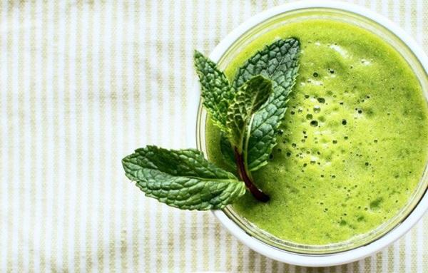 Nước trà xanh bạc hà giúp giảm cân nhanh