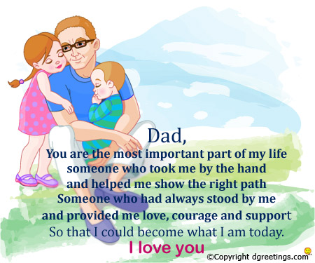 Fathers Day Greetings 2017 | Top Best Fathers Day Greeting Cards