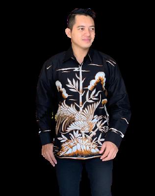 Kemeja Batik Pria Solo Lengan Panjang KBP 14