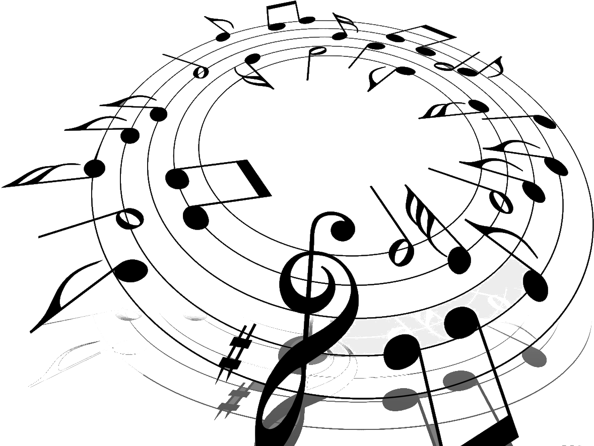 Music Note In A Circle