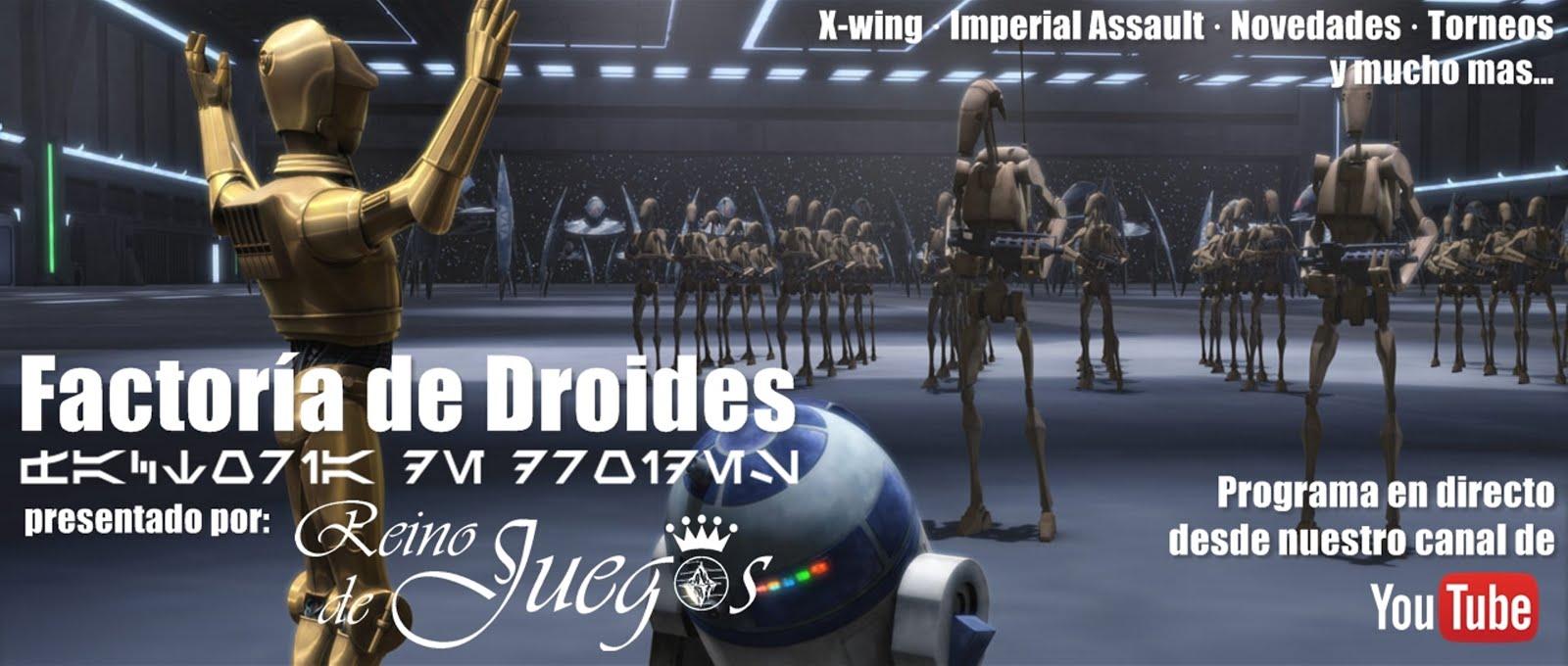 [Factoría de Droides 17] 2X7 Forjando la Leyenda!!! Como formar un Mazo de Mando para IA