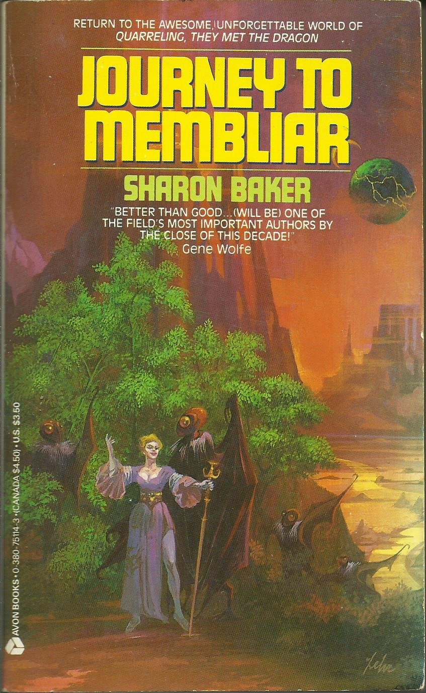 """JOURNEY TO MEMBLIAR"", DE SHARON BAKER (1987)"