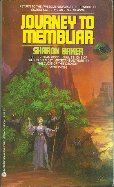 """JOURNEY TO MEMBLIAR"", DE SHARON BAKER (1987)"