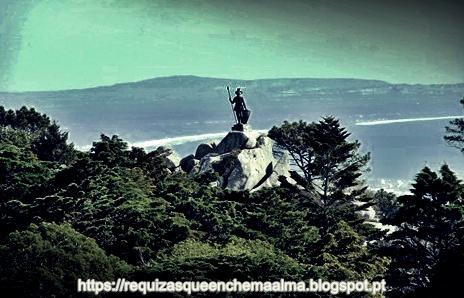 Cruz Alta, Estátua do Guerreiro, Parque do Palácio da Pena