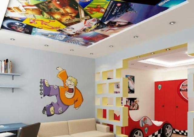 3d Ceiling For Kids Room, 3d Ceiling Mural For Kids False Ceiling Part 82
