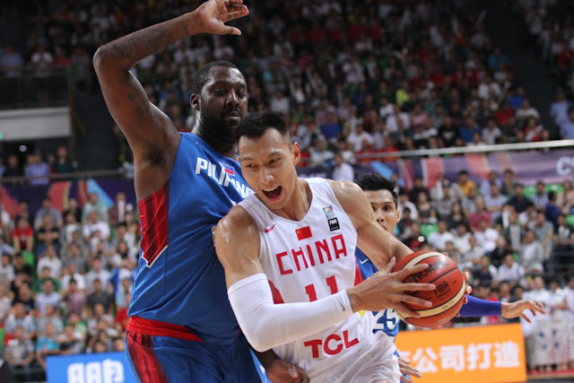 China's Yi Jianlian and Gilas big man Andray Blatche