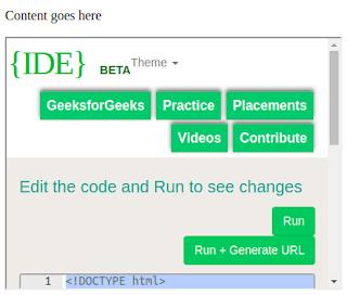 penggunaan iframe pada html untuk menampilkan laman web lain dalam satu bingkai