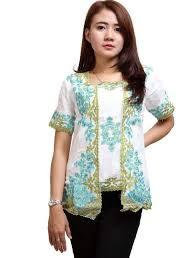 Baju Kebaya Brokat Simple Untuk Remaja