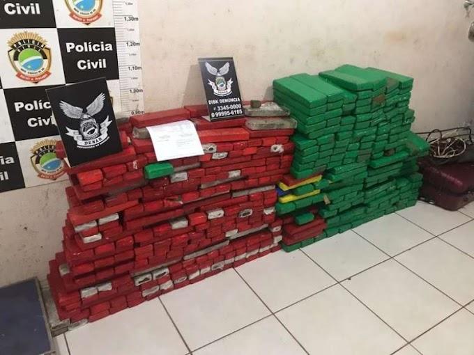 Polícia descobre 'armazém' de drogas que seriam levadas de avião ao Nordeste