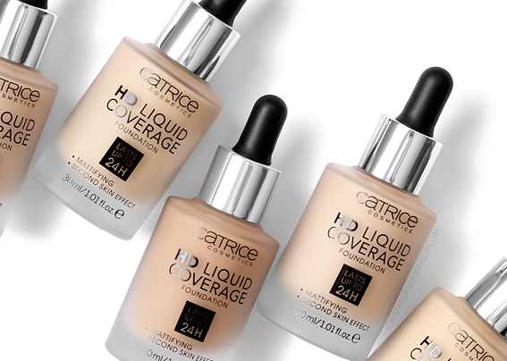 Catrice HD Liquid Coverage Foundation Review Photos MAC Dupes