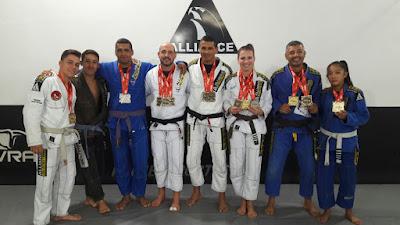 "Alliance Jiu Jitsu Registro participa com muito êxito no ""CURITIBA FALL INTERNATIONAL OPEN 2017 """