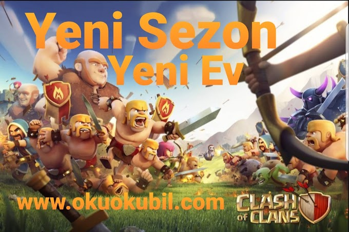 Clash of Clans Yeni Sezon Ev Mod Lights 10.0-25 Elmas Hileli Apk Rootsuz 2020