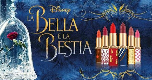 L'Oreal Paris Beauty and the Beast Collection 2017