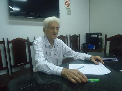 Ulisses Ponchio na reunião da APPP em 17/02/2016