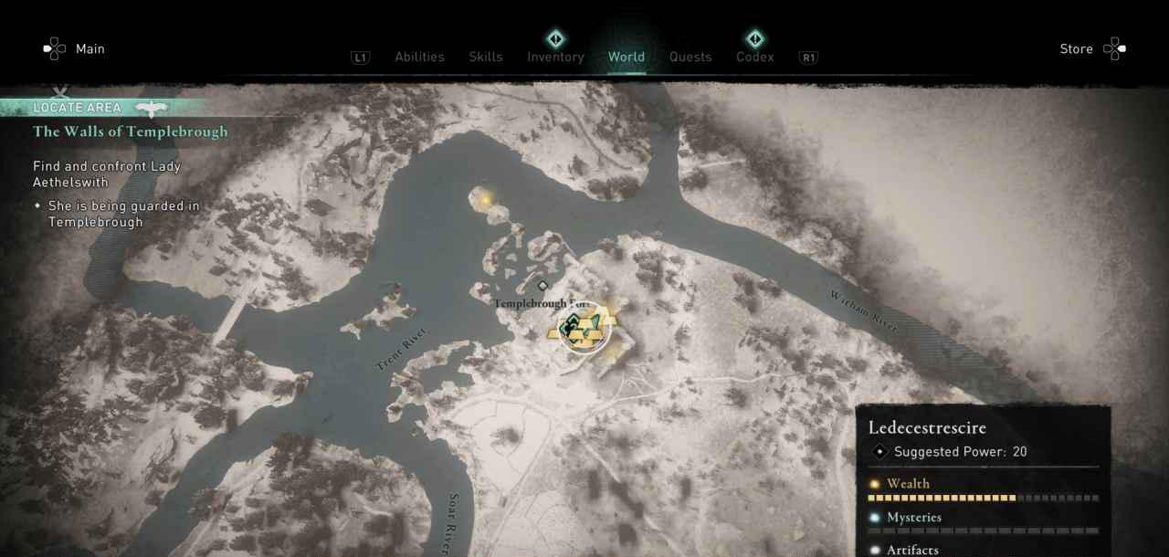 Ingot 22 map 2