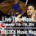 Live This Week: September 11th-17th, 2016