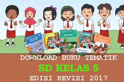 Download Buku Tematik kelas 5 Revisi Semester 1 dan 2