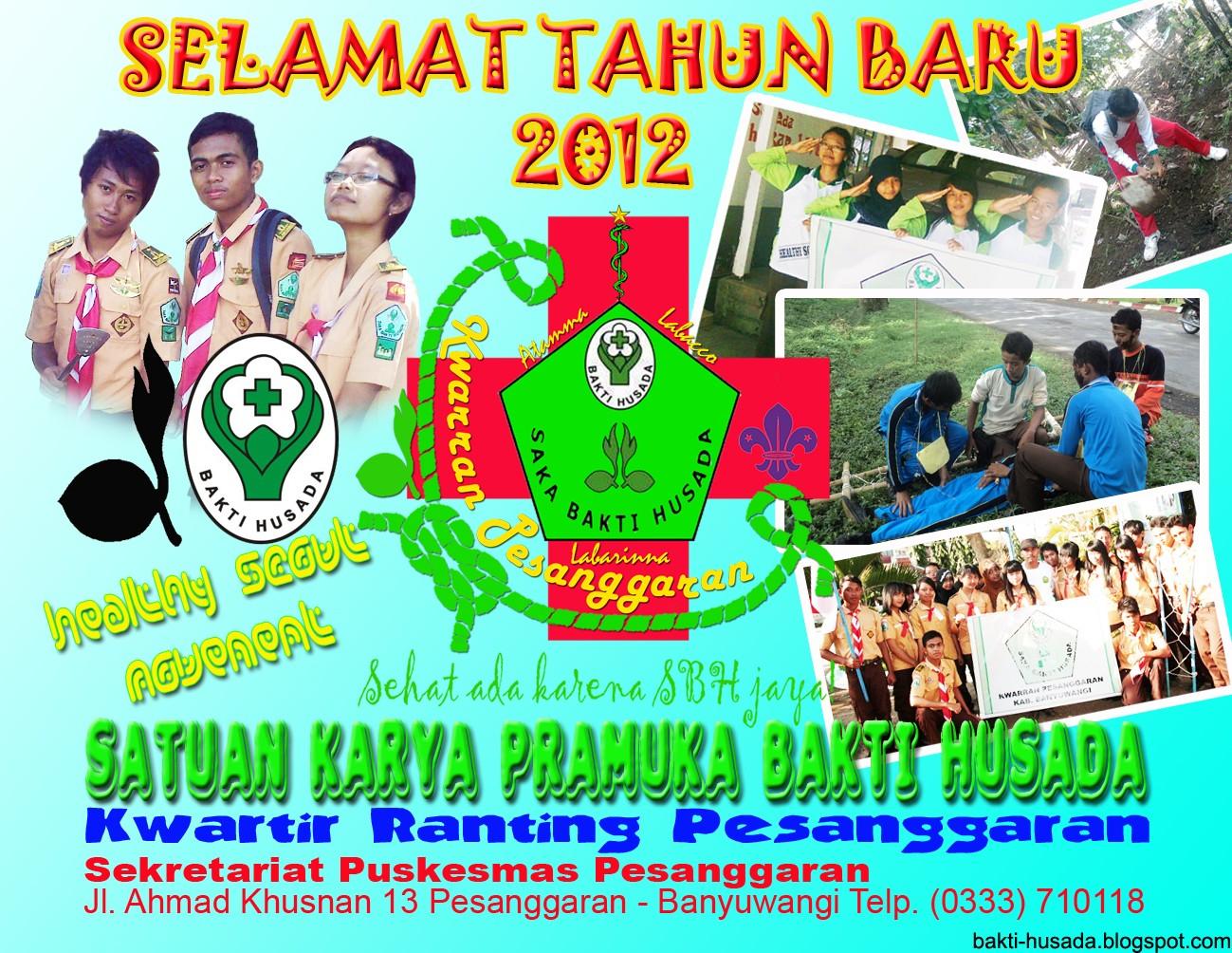 Saka Bakti Husada Kalender Kesehatan Mini Tahun Baru 2012